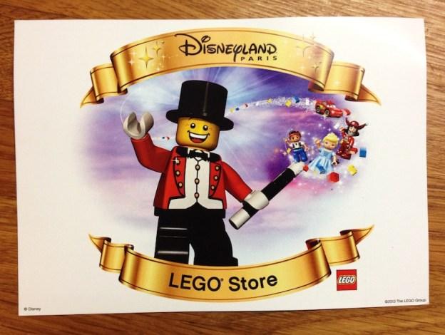 LEGO Store opening invitation