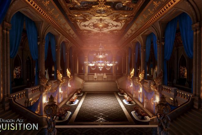 Dragon Age: Inquisition Winterpalast