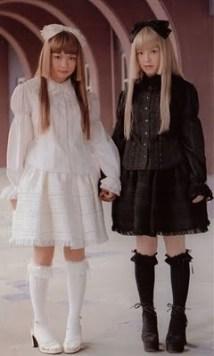 shiro kuro lolita 1