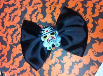 Day of the dead Star Wars Bow Stormtrooper