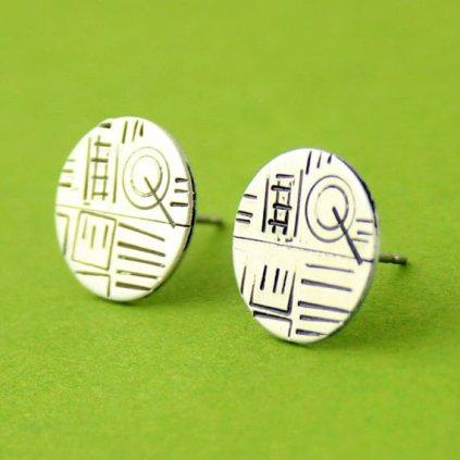 Star Wars Death Star Stud Earrings