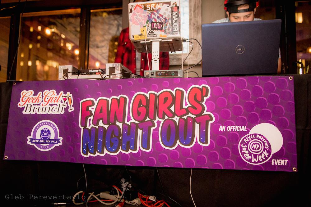 Fan Girls' Night Out