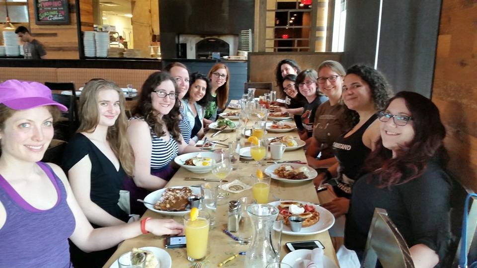 GGB Philly launches with a Jurassic Brunch!