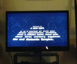 Watching A New Hope