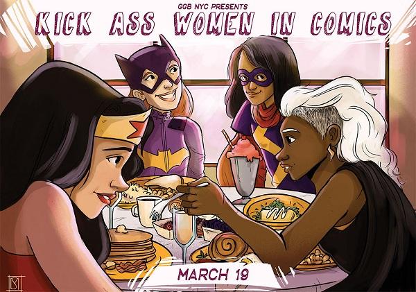 GGB NYC Kick Ass Women in Comics Brunch