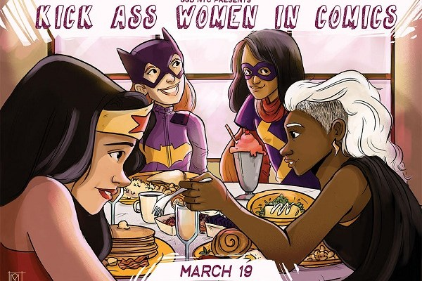 GGB NYC Kick Ass Women in Comics Brunch