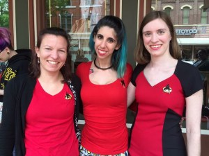 Some Red Shirts made it out alive!