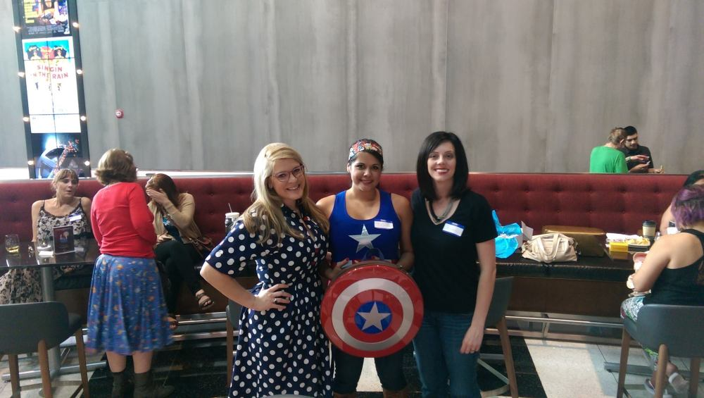 Captain America Civil War, Geek Girl Brunch Phoenix, GGBPhx