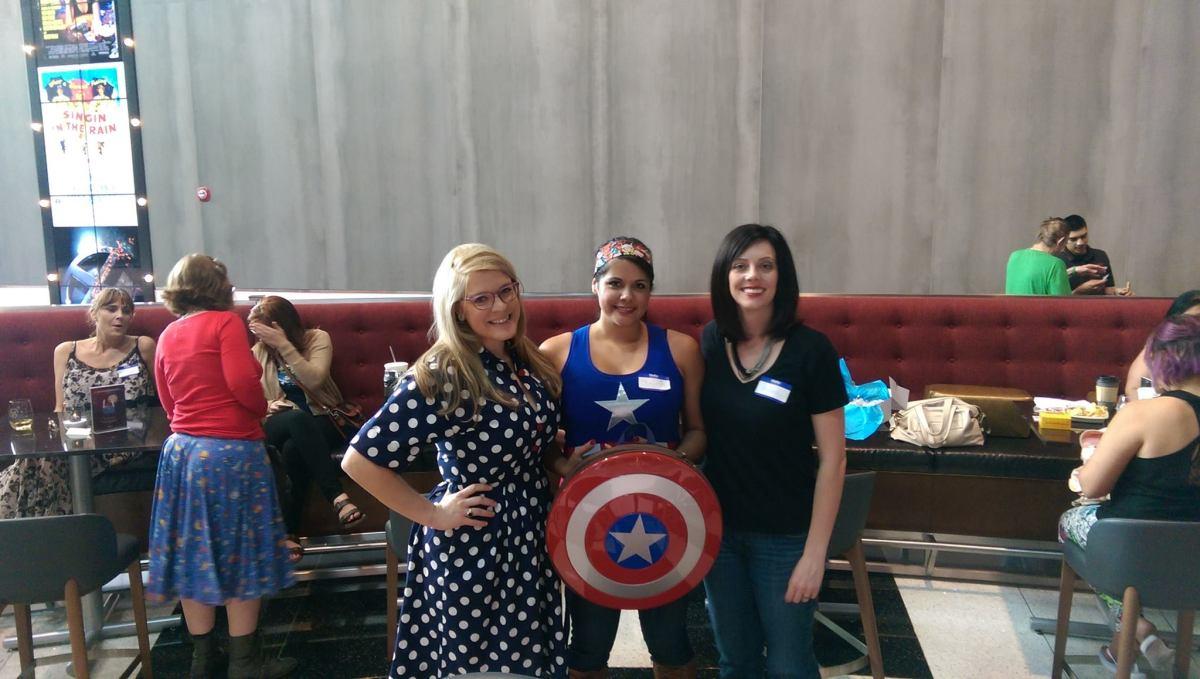 Captain America Civil War, Geek Girl Brunch Phoenix, GGBPhx