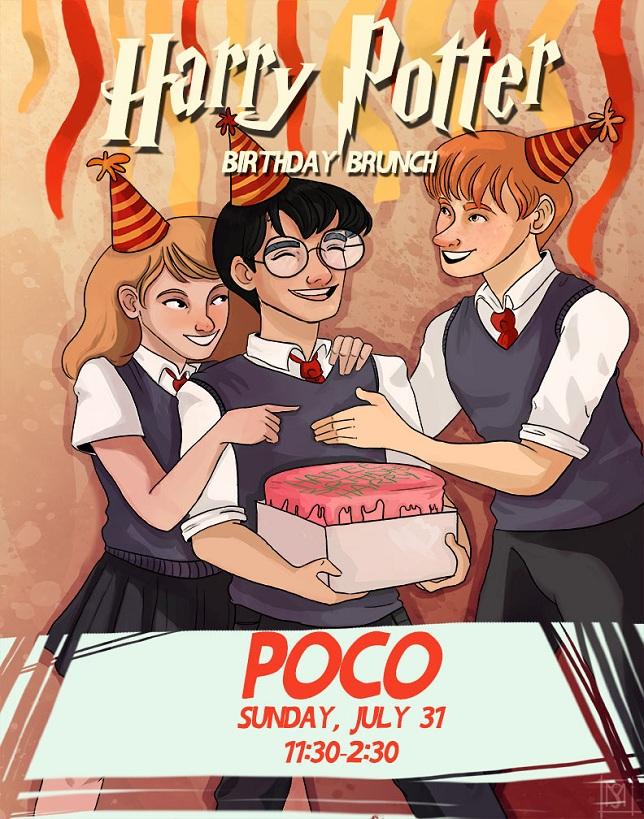 GGB NYC: Harry Potter Birthday Brunch