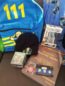 This Fallout survivor's kit was the hottest raffle item this month!