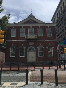 Congress Hall, where A.Ham's financial plans were presented in 1790-91.