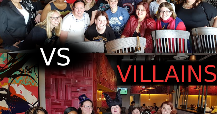 July's Heroes and Villains Brunch!