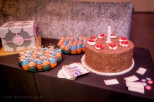 Fan Girls' Night Out- Portal themed cupcakes and cakes from Anna Artuso Pastry
