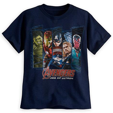 Marvel Avengers tee for boys. Image source: Disney Store