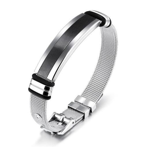 Gentlemens stainless steel men bracelet boyfriend gift geek gifts_1
