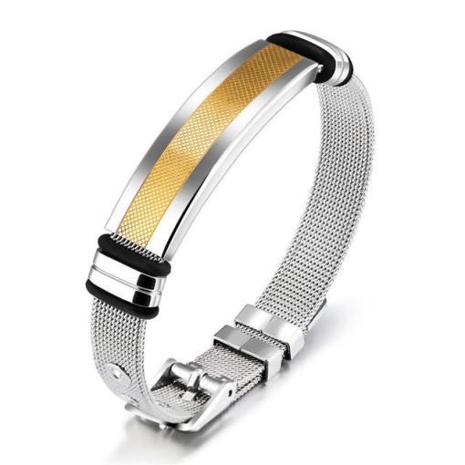 Gentlemens stainless steel men bracelet boyfriend gift geek gifts_3