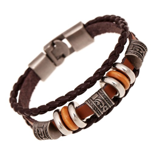 Men's Hermes Motivational Yoga Bracelet