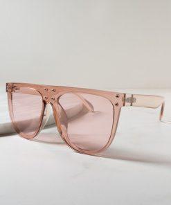 Retro Round Aviator Oversized Sunglasses Womens