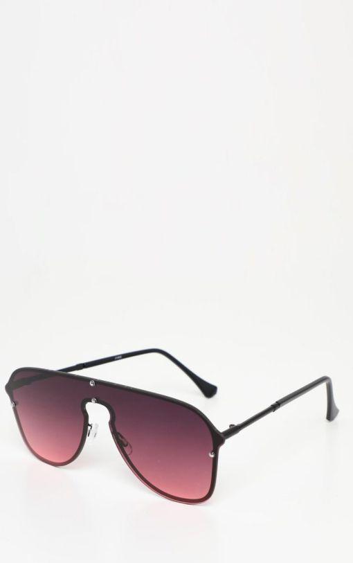 Brown gradient aviators womens sunglasses