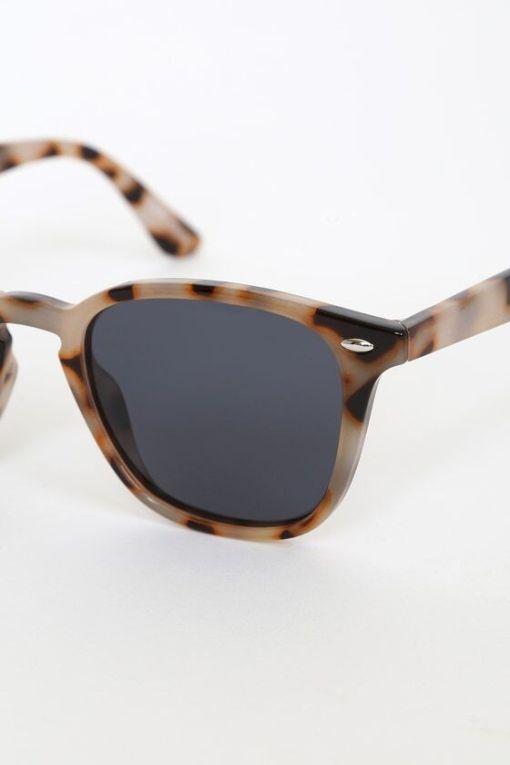 Round Tortoise Shell Cat Eye Sunglasses For Womens