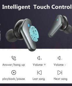 TWS Bluetooth 5.0 Headphones Wireless Waterproof Earphones Noise Cancelling 9D Stereo Sports Earbuds Headsets With Microphone