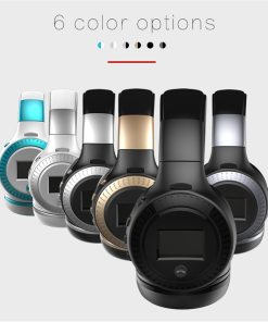 ZEALOT B19 Wireless Headphones with fm Radio Bluetooth Headset Stereo Earphone with Microphone for Computer Phone,Support TF,Aux
