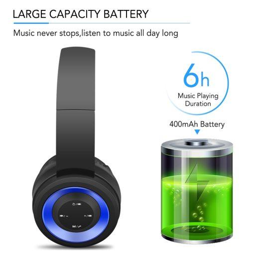 Gaming Headset Bluetooth Wireless Headset HIFI Noise Reduction Sound USB Audio Transmitter 3.5mm HiFi Deep Bass Music Headset