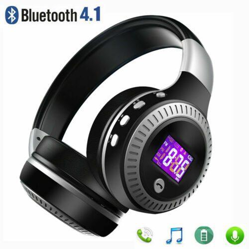 Noise Cancelling Bluetooth Earphones | Stereo Headset Super Bass Earphones Mic