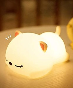 Animal Silicone Baby Cute Night Table Touch Lamps