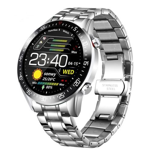 Sport Digital Fitness Watch With Heart Rate Monitor Step