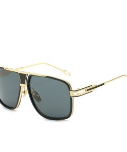 Classic Oversized Polarized Aviator Sunglasses Men