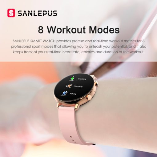 SANLEPUS ECG Smart Watch Bluetooth Call 2021 NEW Men Women Waterproof Smartwatch Heart Rate Monitor For Android iOS Samsung 2020