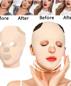 3D Reusable Breathable Beauty Women Anti Wrinkle Slimming Bandage V Shaper Full Face Lift Sleeping Mask
