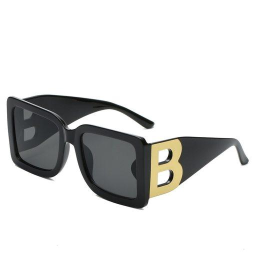 Square Sunglasses Women Fashion 2021New Vintage Big Frame Shades Men Brand Designer Luxury Sun Glasses UV400 Oversized Eyewear