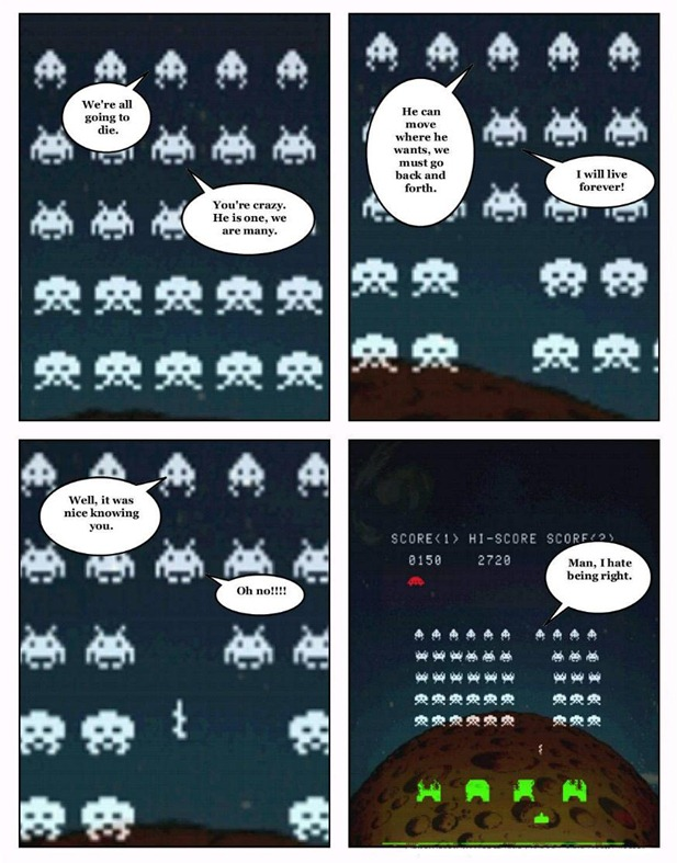 what theyre thinking space invaders