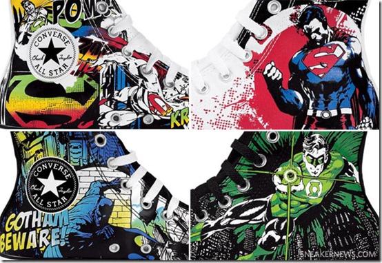 Converse de Super Heroes