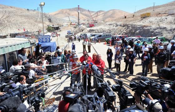 Rescate de Mineros en Chilenos