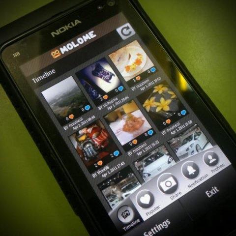 Molome el Instagram de Nokia