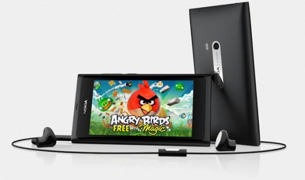 Nokia N9 Angry Birds