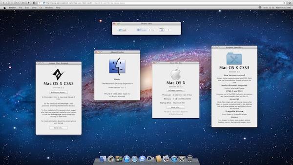 Prueba Mac OS X Lion en el Navegador