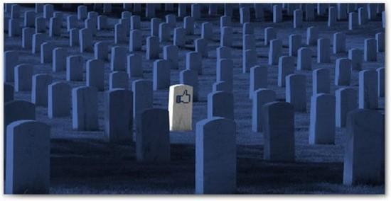 Muerte en Facebook