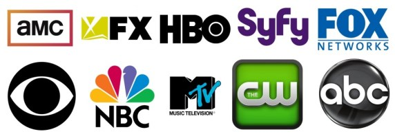 These are channel logos.....we'll be talking about shows on these channels and more!