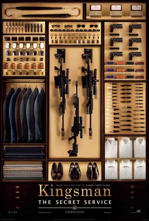 Will Kingsman be the secret service's secret weapon? Find out this Friday.