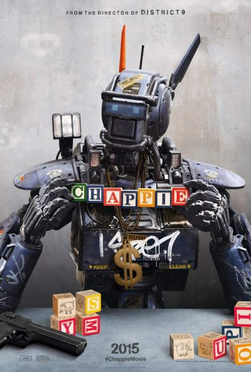 Will Chappie be the heart warming tale we all hope or will it leave us feeling Robo-phobic? Find out this Friday with our review.