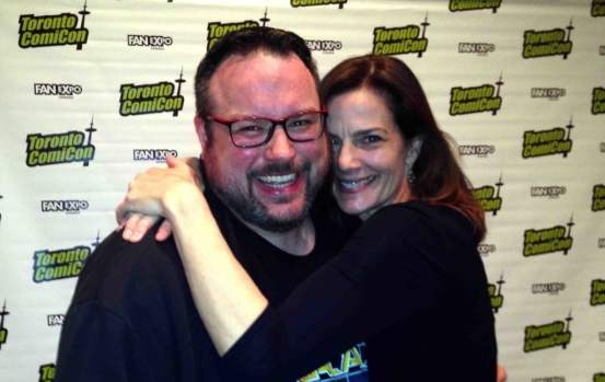 Terry Farrell is just one of the celebs we got to talk to at the Toronto ComiCon this weekend. Find out who else this Friday!