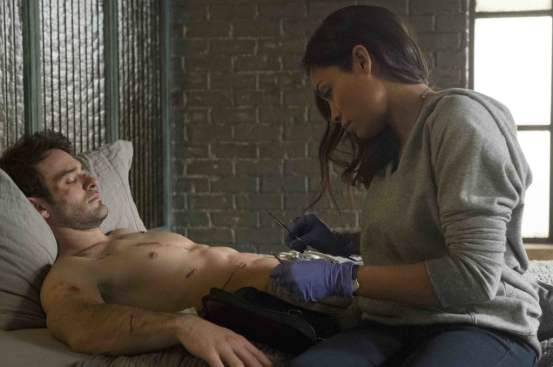 Is she Claire Temple or Night Nurse? She's both! Photo: Barry Wetcher