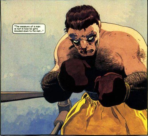 Battlin' Jack (drawn by Tim Sale in Daredevil Yellow).