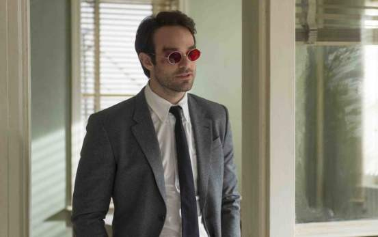Charlie Cox is Matt Murdock.....he just is. Photo credit: Barry Wetcher
