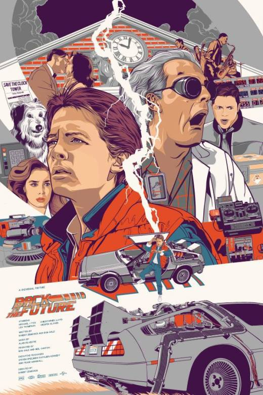 This Friday, we're going back.....Back to the Future!
